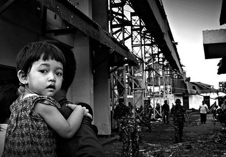 After Earthquake | Photography by artist Rahmat Nugroho | Art print on Canvas