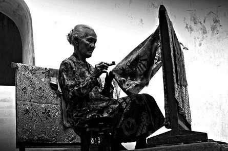 Rahmat Nugroho | Batik maker Photography Prints by artist Rahmat Nugroho | Photo Prints On Canvas, Paper | ArtZolo.com