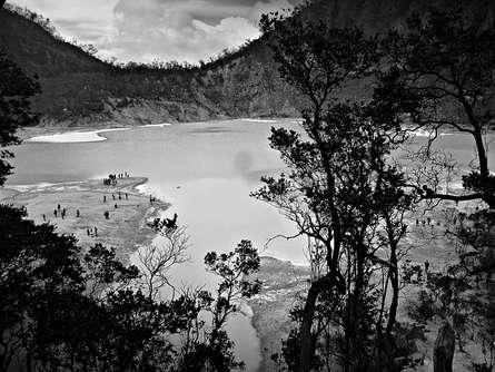 Rahmat Nugroho | Ciwedey White Crater Photography Prints by artist Rahmat Nugroho | Photo Prints On Canvas, Paper | ArtZolo.com