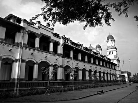 Lawang Sewu | Photography by artist Rahmat Nugroho | Art print on Canvas