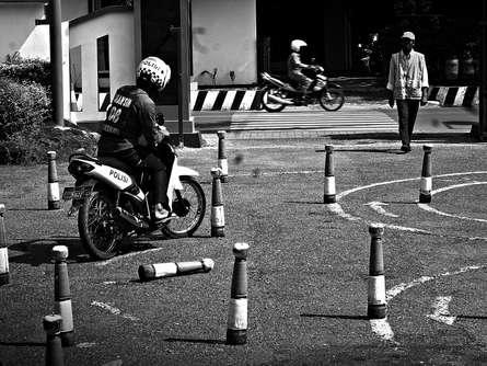 Rahmat Nugroho | Looking driving license Photography Prints by artist Rahmat Nugroho | Photo Prints On Canvas, Paper | ArtZolo.com