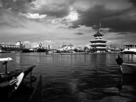 Rahmat Nugroho | Tanjung Mas Harbour Photography Prints by artist Rahmat Nugroho | Photo Prints On Canvas, Paper | ArtZolo.com