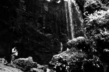Rahmat Nugroho | Under Waterfall Photography Prints by artist Rahmat Nugroho | Photo Prints On Canvas, Paper | ArtZolo.com