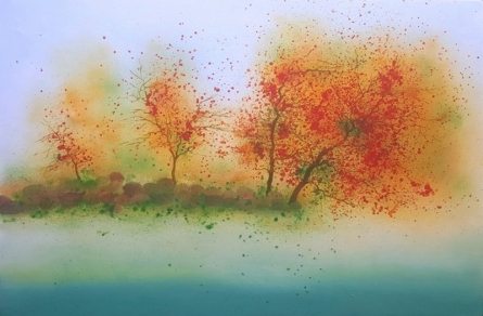 Euphoria | Painting by artist Bhanupratap Khare | oil | Canvas
