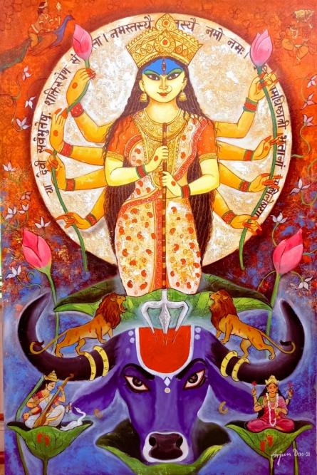 #figurative #durga #durgamaa #devoti #parvati #shivparvati