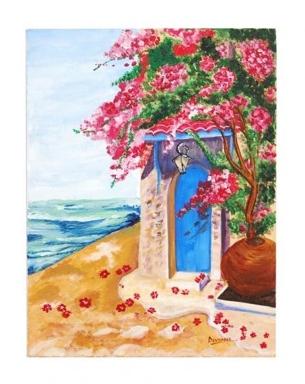 Baywatch | Painting by artist Devyani Luharuka | Acrylic | Canvas