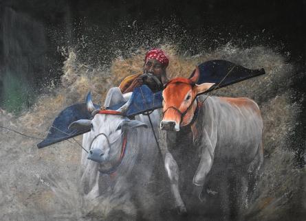 Realistic Acrylic Art Painting title Dsc 0518 11 by artist Lisha N T