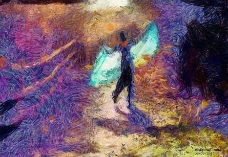 Lady On Canvas   Digital_art by artist Pushpendu Dutta   Art print on Canvas