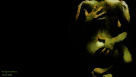 Pushpendu Dutta | Romance on Dark Digital art Prints by artist Pushpendu Dutta | Digital Prints On Canvas, Paper | ArtZolo.com