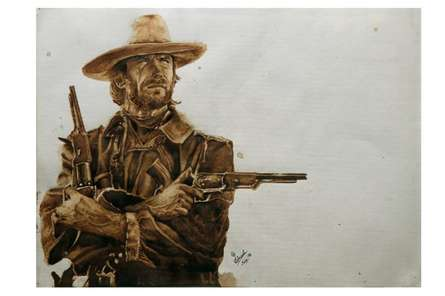 True Grit | Painting by artist Gaurav Dinesh | other | Paper