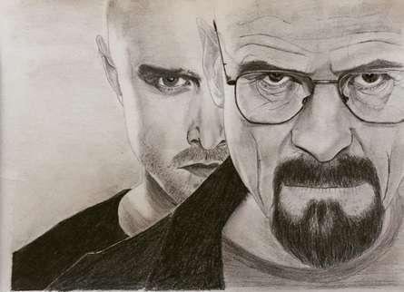 Breaking Bad | Drawing by artist Joanne Morais |  | pencil | Paper