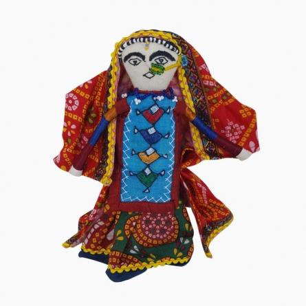 Dhingli - Woman (L) | Craft by artist De Kulture Works | Cloth