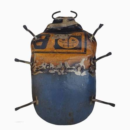 Dekulture Works | Wall Mount Beetle Craft Craft by artist Dekulture Works | Indian Handicraft | ArtZolo.com