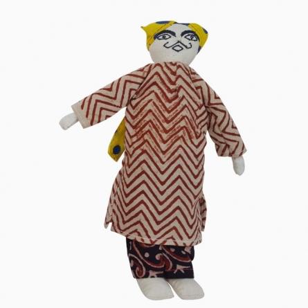 Dhingli- Man (L) | Craft by artist De Kulture Works | Cloth