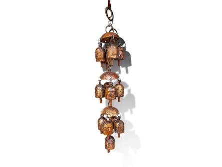 De Kulture Works | Ancient Idiophone Chandelier Craft Craft by artist De Kulture Works | Indian Handicraft | ArtZolo.com