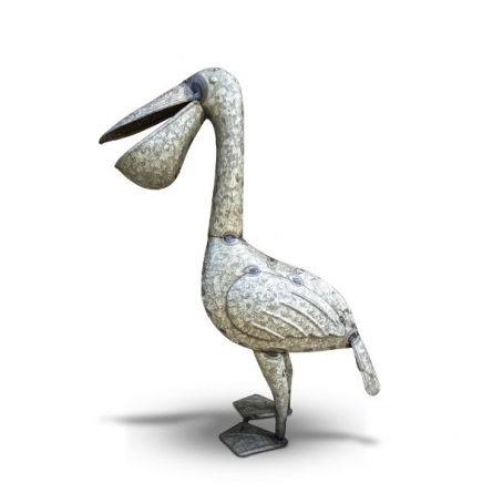 Recycled Iron Duck | Craft by artist Dekulture Works | Recycled Iron