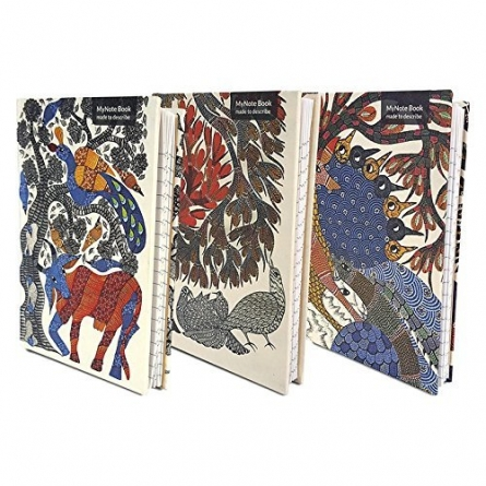De Kulture Works | MyNotebook (Set of 3) Craft Craft by artist De Kulture Works | Indian Handicraft | ArtZolo.com