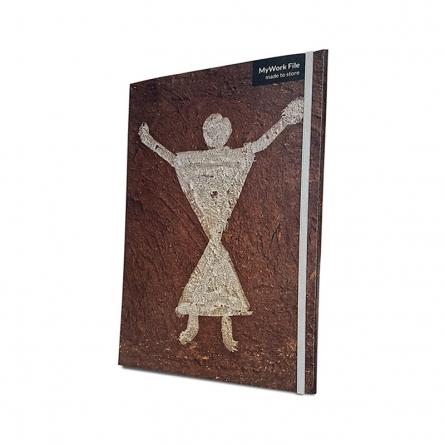 MyWork File Stick Figures | Craft by artist De Kulture Works | Paper