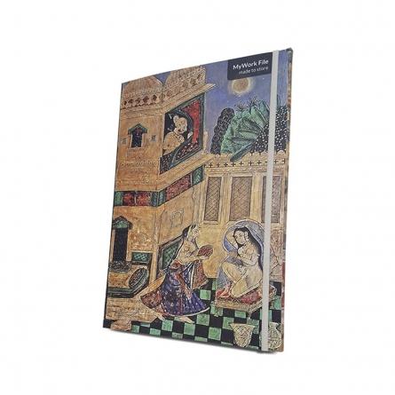 MyWork File Bundi Painting Glimpse | Craft by artist De Kulture Works | Paper