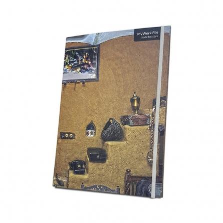 MyWork File Punjab Lounge | Craft by artist De Kulture Works | Paper