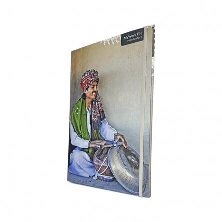 MyWork File Ghada Ghamela Player | Craft by artist De Kulture Works | Paper