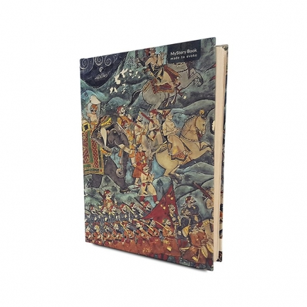 De Kulture Works | My Story Book King's Arrival Craft Craft by artist De Kulture Works | Indian Handicraft | ArtZolo.com
