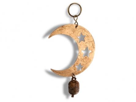 Ancient Idiophone Crescent Ghantada | Craft by artist De Kulture Works | Metal