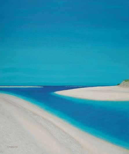 Hayle Esturary. | Painting by artist SIMON MASON | oil | Canvas