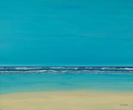 Tranquil. | Painting by artist SIMON MASON | oil | Canvas