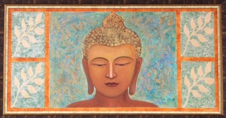 Tranquility in Life | Painting by artist Shreya Sarda | acrylic | Canvas