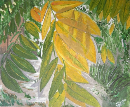 Fall Colours 1 | Painting by artist Sindhulina Chandrasingh | oil | Canvas
