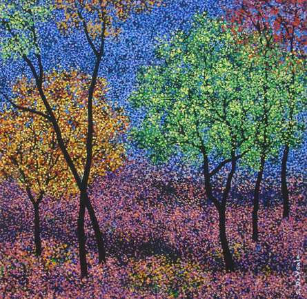 Landscape 8 | Painting by artist Sanjay Devsale | acrylic | Canvas