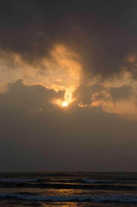 Sunrise | Photography by artist Naveen Palanivelu | Art print on Canvas