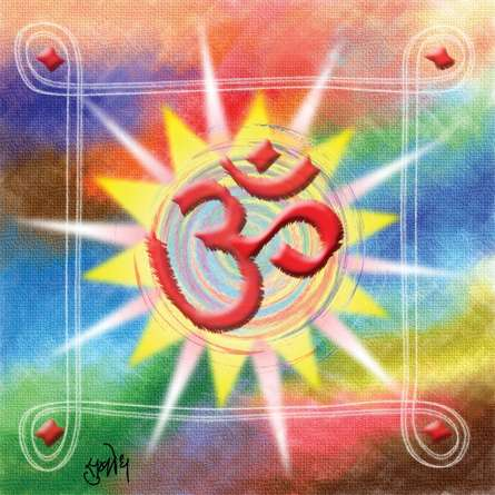 Subodh Padhye | Bramhand Om Digital art Prints by artist Subodh Padhye | Digital Prints On Canvas, Paper | ArtZolo.com