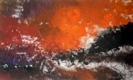 Rashmi Pitre Painting-dawn-20 In X 30in | Painting by artist Rashmi Pitre | acrylic | Canvas