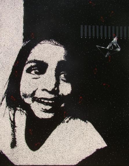 Sujit Karmakar | Acrylic Painting title Smile on Canvas | Artist Sujit Karmakar Gallery | ArtZolo.com