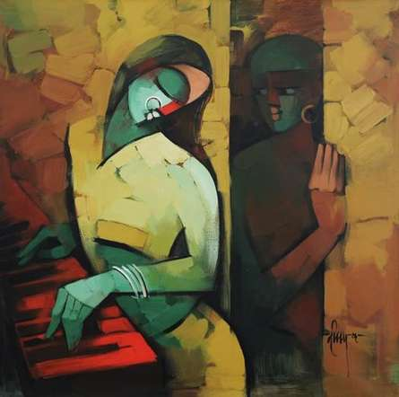 Love | Painting by artist Deepa Vedpathak | acrylic | Canvas