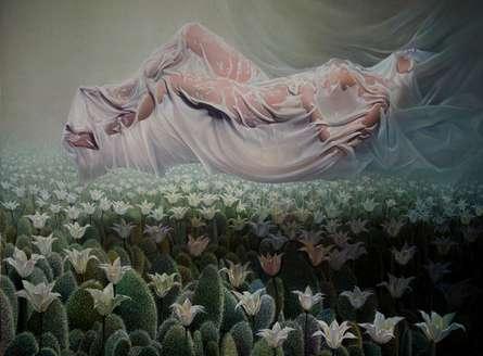 Summary Of Life | Painting by artist Amit Bhar | acrylic-oil | canvas