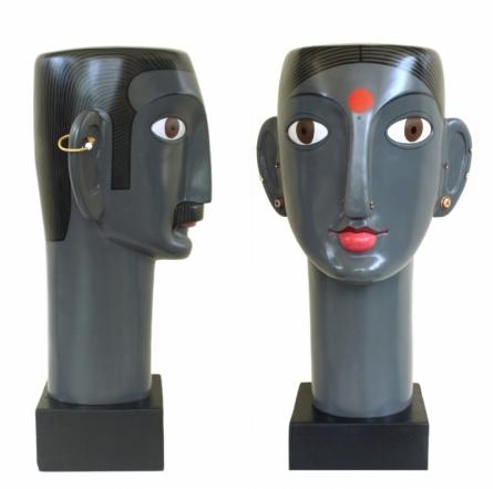 Mixedmedia Sculpture titled 'Untitled 12' by artist Narsimlu Kandi