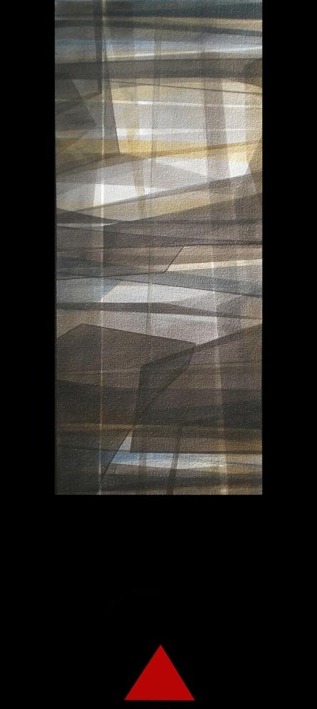 Mukhtar Kazi Paintings | Abstract Painting - Untitled 1 by artist Mukhtar Kazi | ArtZolo.com