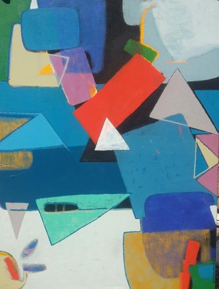 Yashwant Pawar Paintings | Acrylic Painting - Untitled 4 by artist Yashwant Pawar | ArtZolo.com