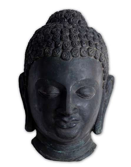 art, sculpture, bronze, religious, gautama buddha