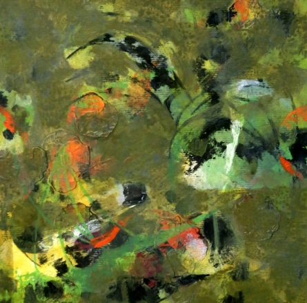 Colours Of Life 17 | Painting by artist Asif Shaikh | acrylic | mount board