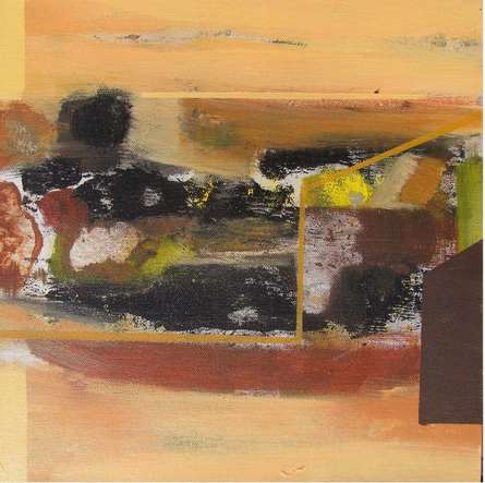 Untitled 9 | Painting by artist Somanth  Adamane | acrylic | Canvas