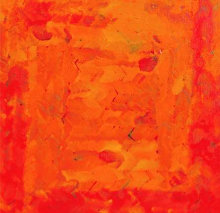 Abstract Oil Art Painting title 'Untitled 11' by artist Anil Tagad