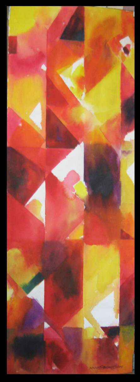 Light And Shead | Painting by artist Manas Biswas | watercolor | Paper