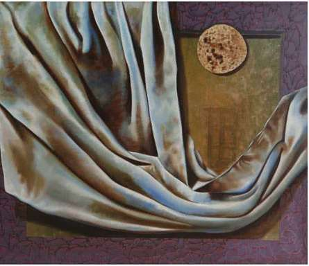 Nitin Marde Paintings | Acrylic-oil Painting - Food Cloth and Shelter by artist Nitin Marde | ArtZolo.com