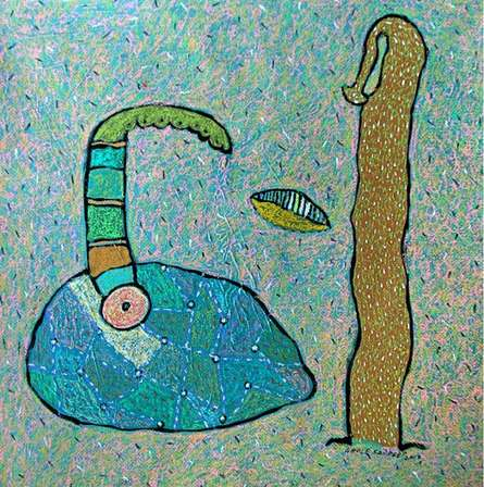 Untitled 1 | Mixed_media by artist Sandeep Ghule | Paper