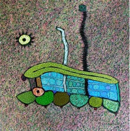 Untitled 2 | Mixed_media by artist Sandeep Ghule | Paper