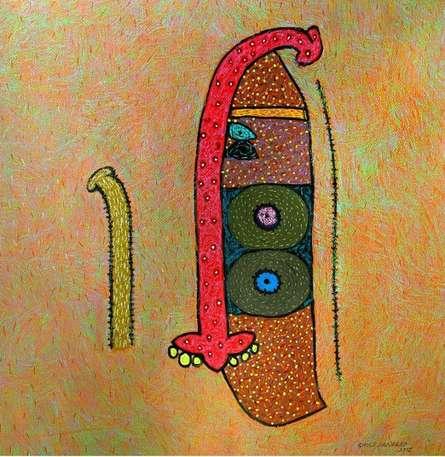 Untitled 6 | Mixed_media by artist Sandeep Ghule | Paper